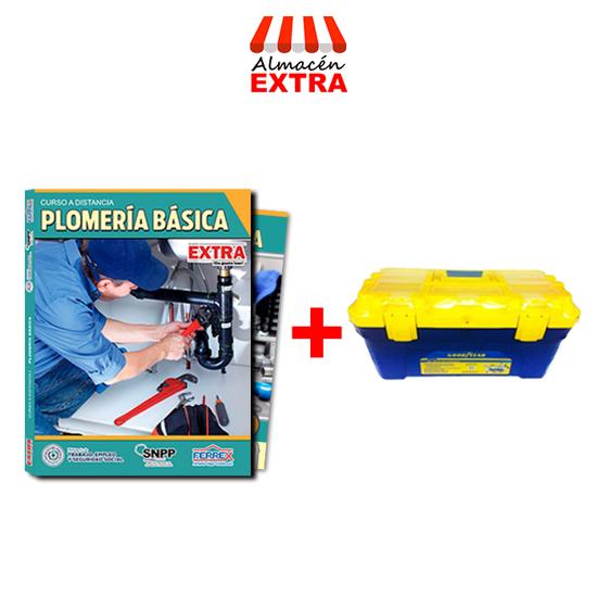 Imagen de Fasciculos curso a distancia de Plomeria  básica + caja de herramientas